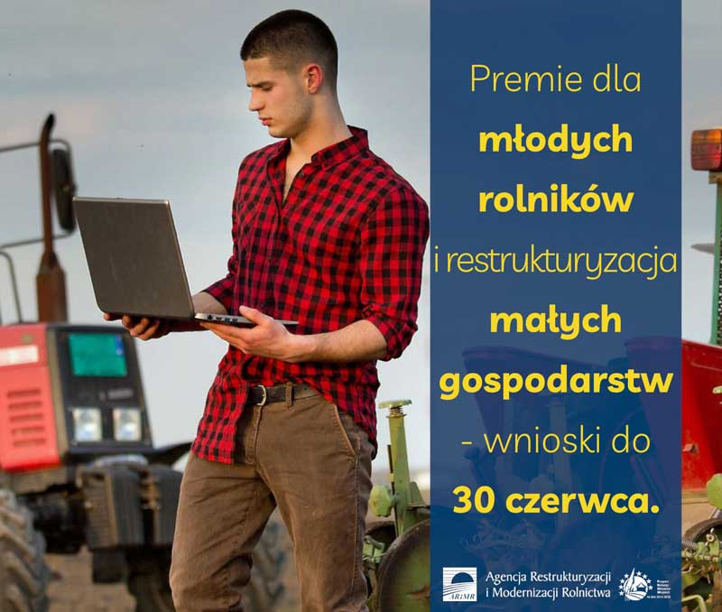 Baner premie dla rolników