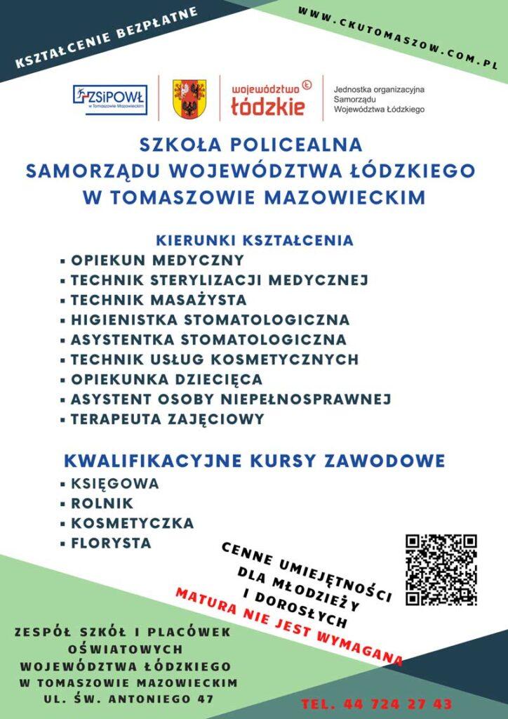 Plakat szkoła